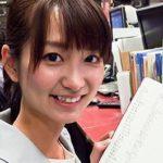 中島芽生アナは大島優子に似てる?!旦那との結婚生活は??news every.